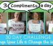 30 Day Challenge 3 Compliments a Day